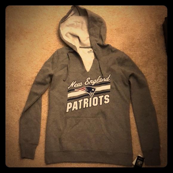 V-Neck Patriots sweatshirt hoodie bf0d7a056